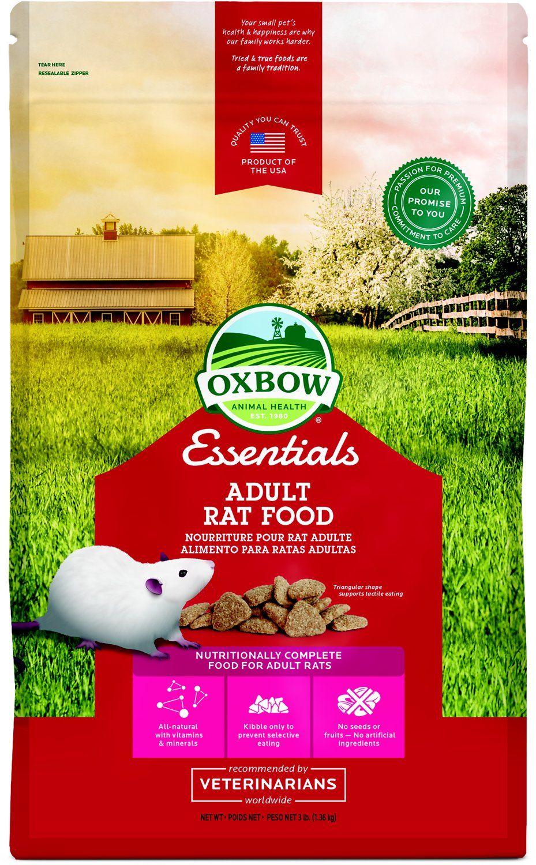 Oxbow essentials regal rat adult rat food 3lb bag