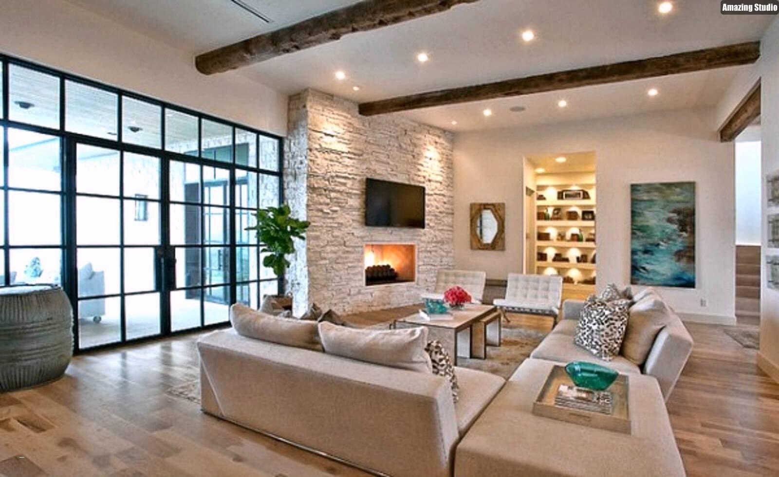 Moderne Wohnzimmer Decken