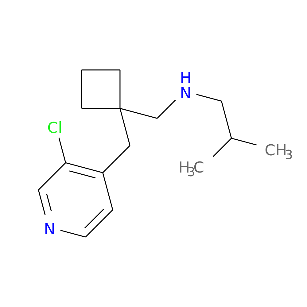 ((1-[(3-CHLOROPYRIDIN-4-YL)METHYL]CYCLOBUTYL)METHYL)(2-METHYLPROPYL)AMINE is now  available at ACC Corporation
