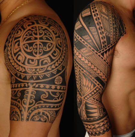 Tatuajes Para Hombres En Brazo Tribal Armadura Tatuaje Estilo De