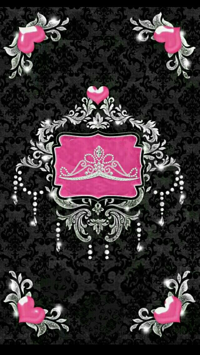 Black And Pink Pink And Black Wallpaper Pretty Wallpapers Backgrounds Queens Wallpaper