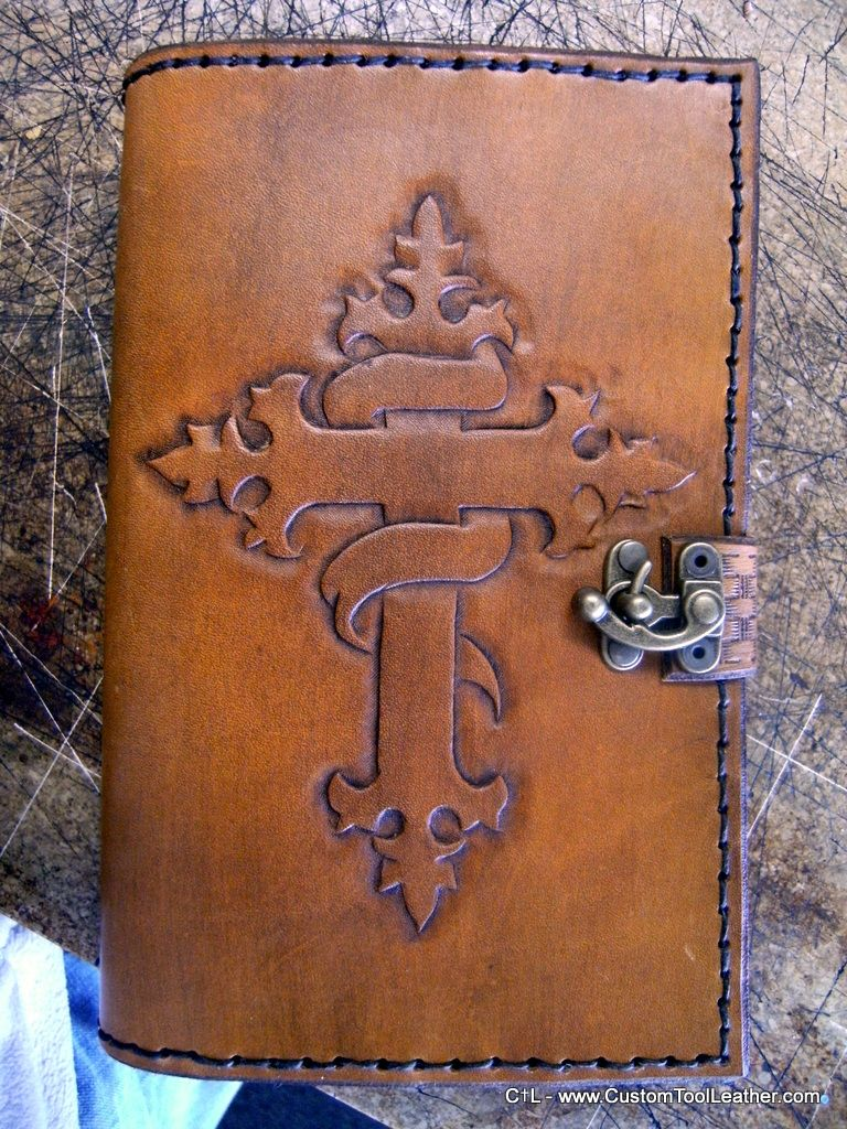 custom handtooled leather bible cover bible and book