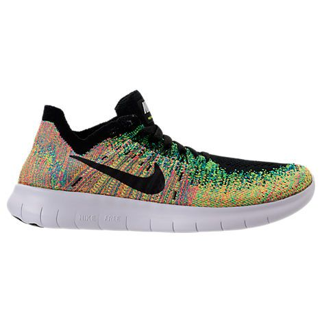 hot sales a2e48 2b02d Boys' Grade School Nike Free RN Flyknit 2017 Running Shoes ...