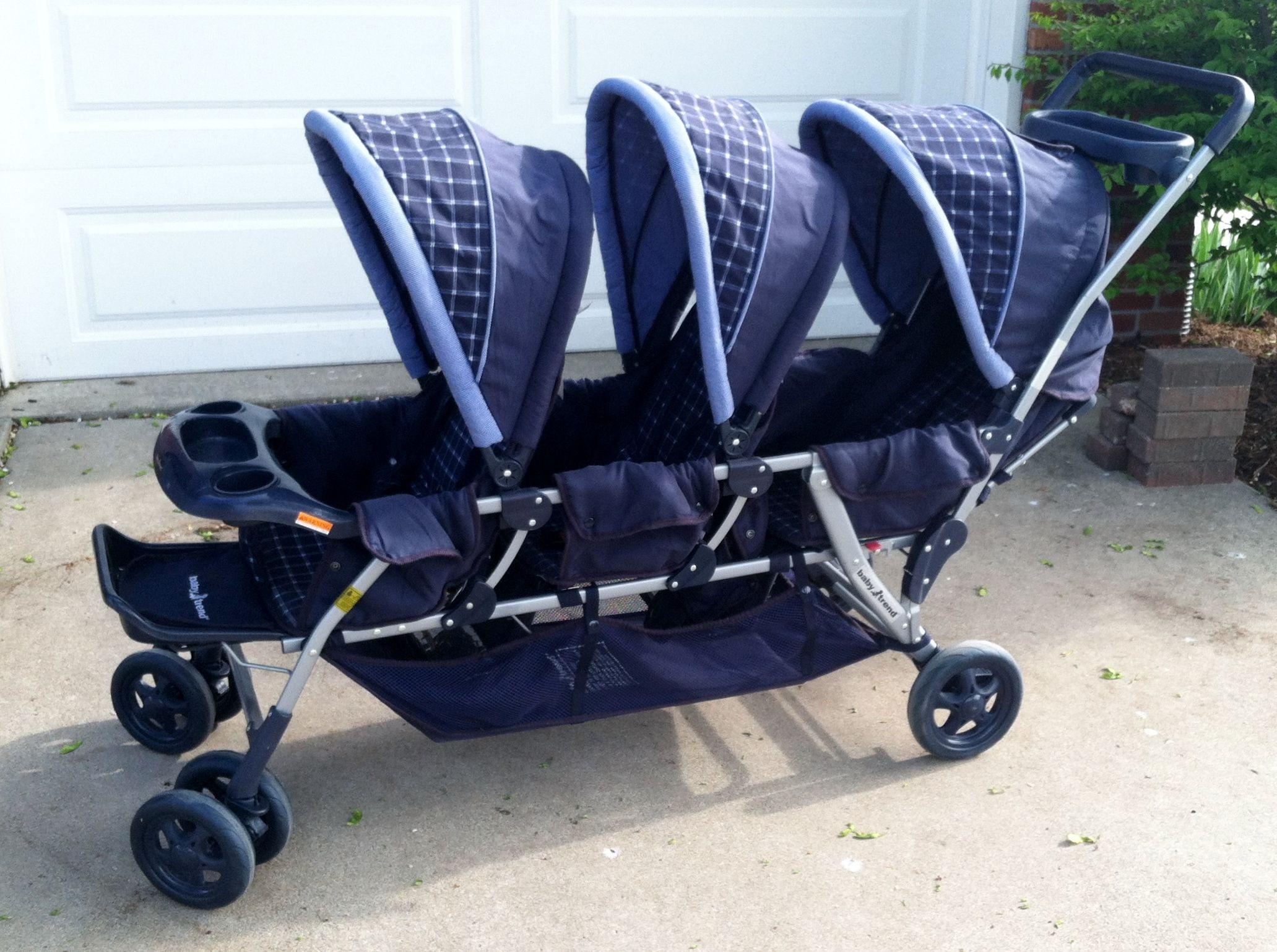 Baby Trend Triplet Stroller in EdsGarageSales Sale in