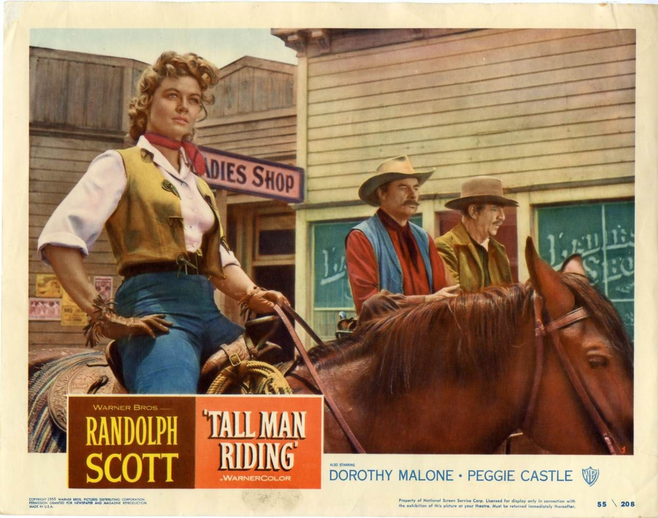 Image result for dorothy malone randolph scott