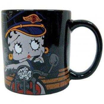 Betty Boop Mug Biker Girl Betty