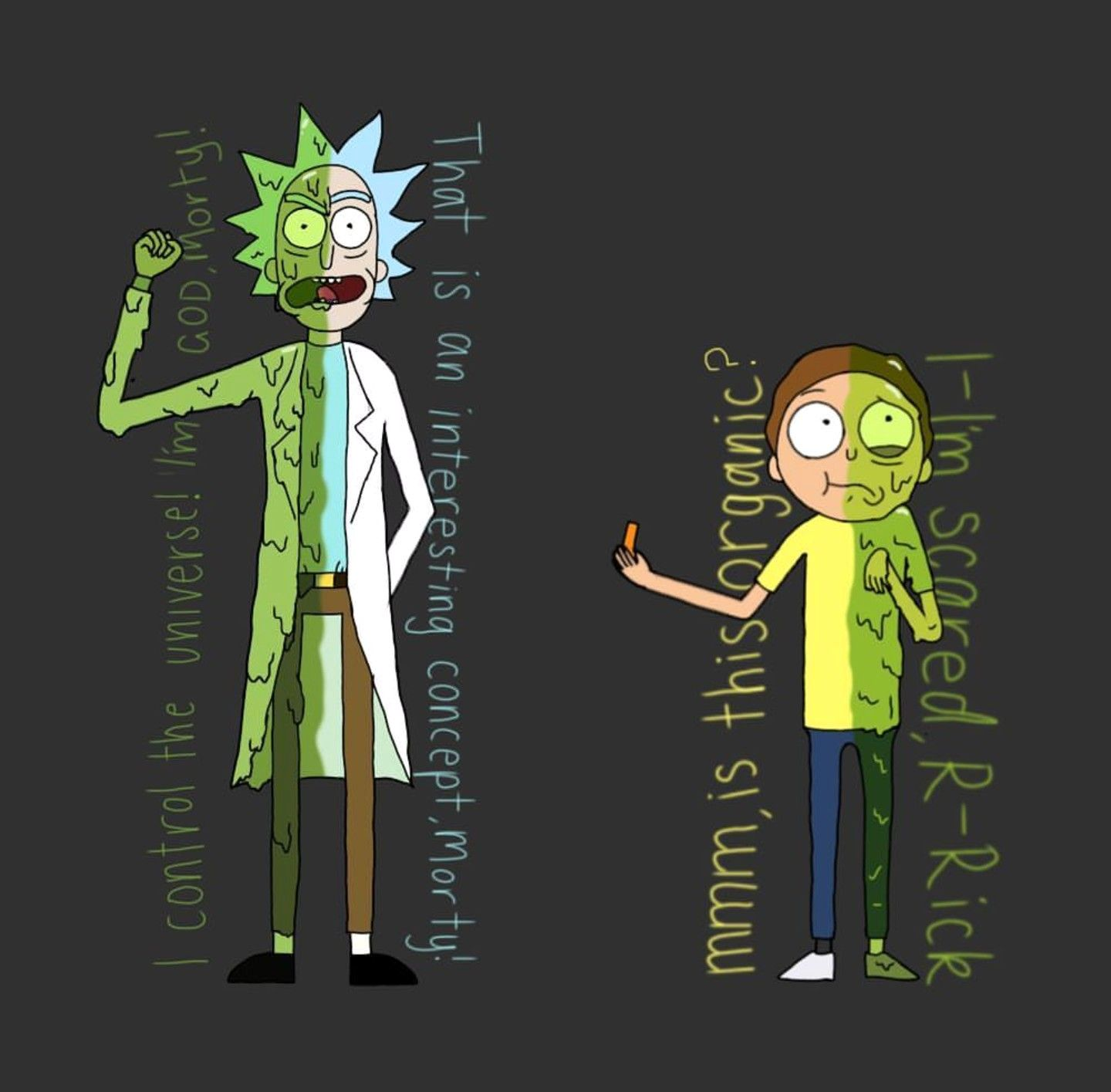 Rick And Morty Wallpaper Luxury Toxic Rick And Morty In 2019
