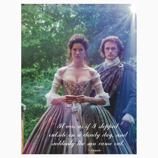 Outlander/Jamie Wedding day Quote | Unisex T-Shirt
