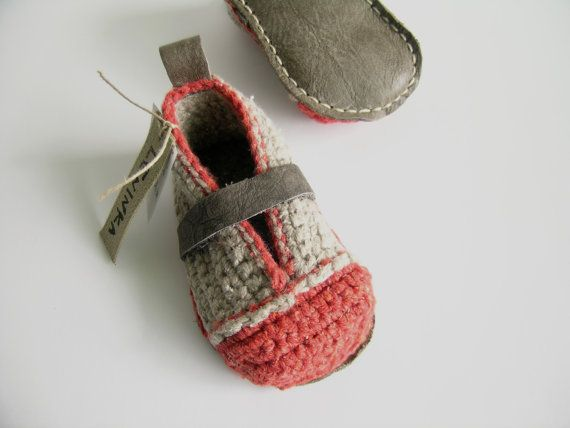 Booties made for walking via etsy --cute
