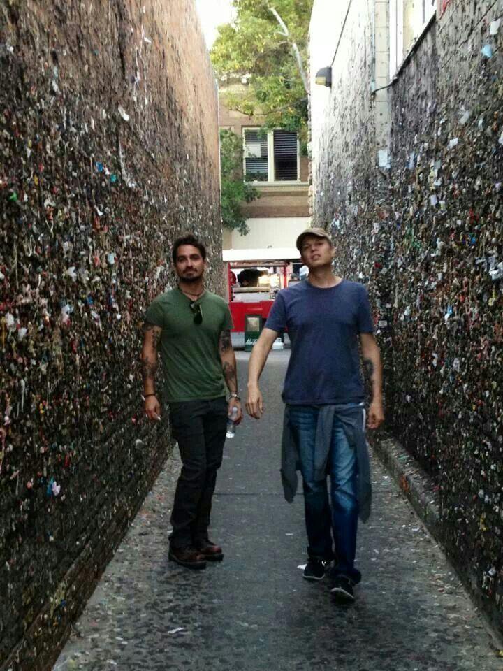 Cody Canada and Jason Boland in Bubblegum Alley