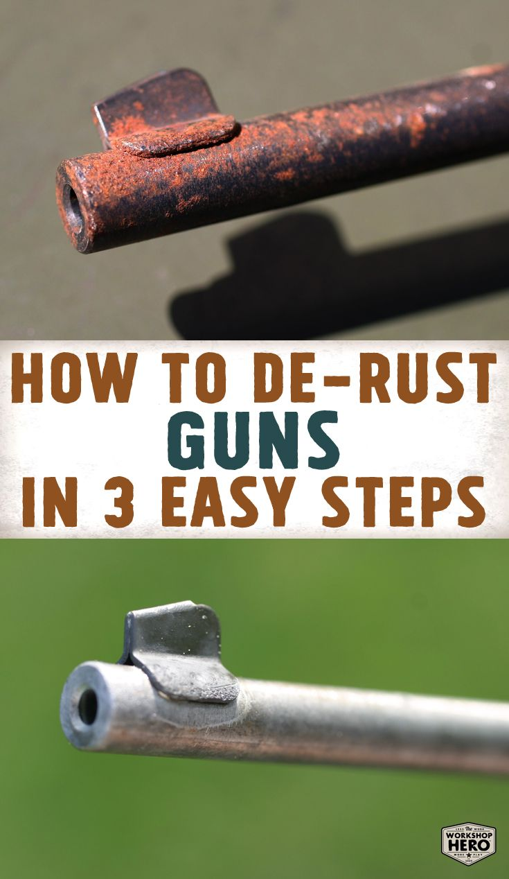 Pin On Rust Removal Before After