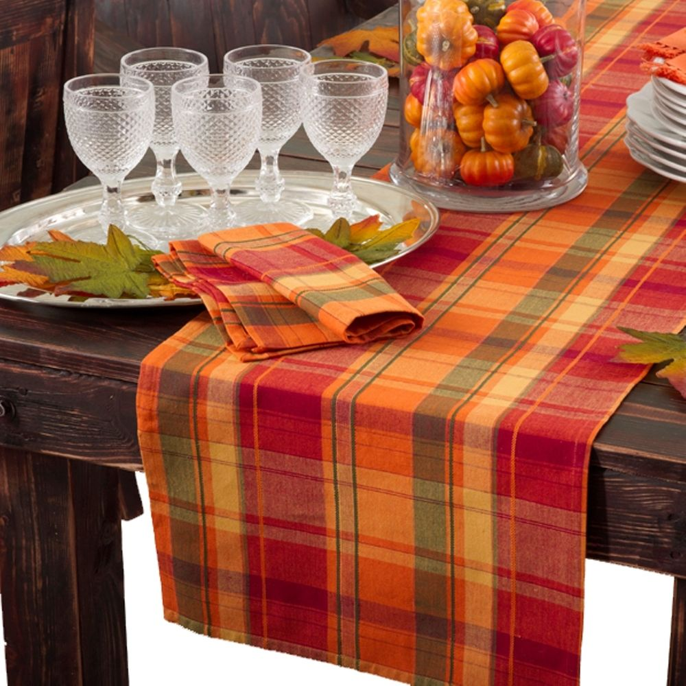Great Harvest Design Table Runner Or Set Of 4 Napkins | Overstock.com Shopping    The Best Deals On Table Runners