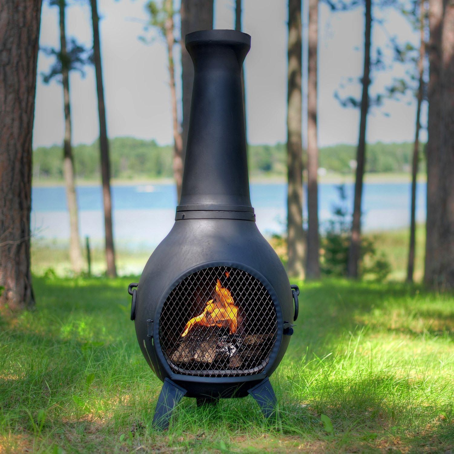Fire Pits Chimineas: Clay Fire Pit Chimney