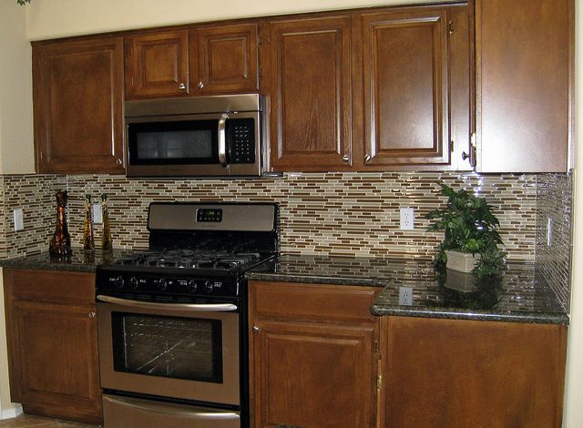 How To Glass Tile Backsplash Collection Cool Design Inspiration