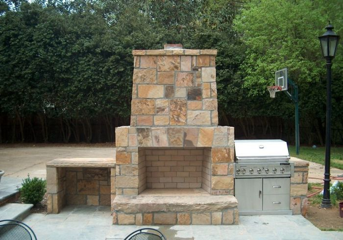 crab orchard ashlar outdoor fireplaces indoor fireplaces rh pinterest com