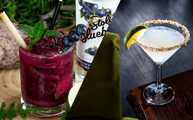This or That: Maine's Blueberry Mojito or Florida's Coconut Daiquiri - Opal Unpacked