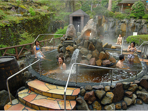 Resultado de imagen para piscina de cafe japon