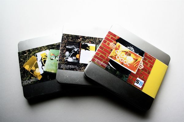 Self Promotion Packaging are made from metal CD cases from - promotion on resume