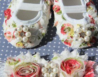Baby girl red Shoesred Baby ShoesBaby Girl red crib by BabyLUXX