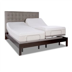 Tempur Pedic Ergo Plus Style 25289110 Adjule Bed Bases Providing Unlimited Personalized Sleep Positions Adjulebeds