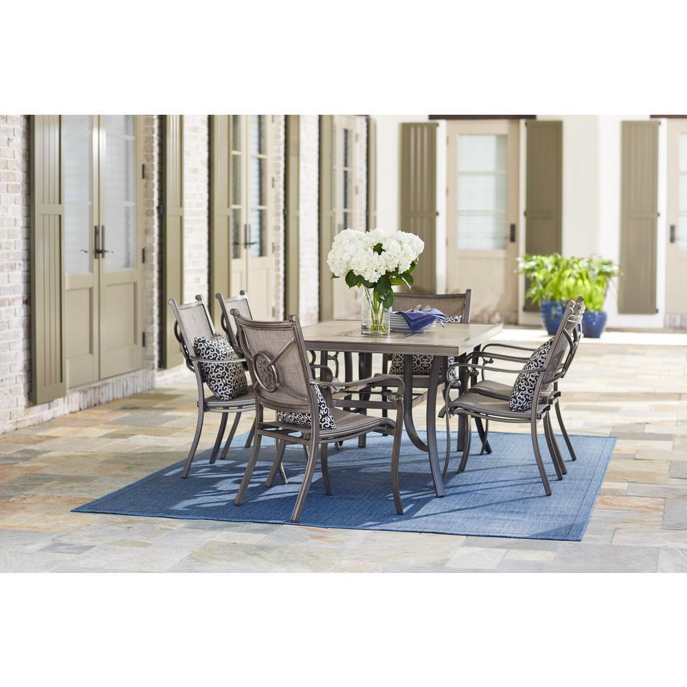 Home Decorators Collection Wilshire Estates 7 Piece Aluminum