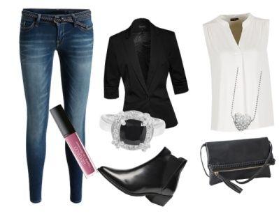 sportlich elegant abendoutfit kleidung mode pinterest sportlich elegant. Black Bedroom Furniture Sets. Home Design Ideas