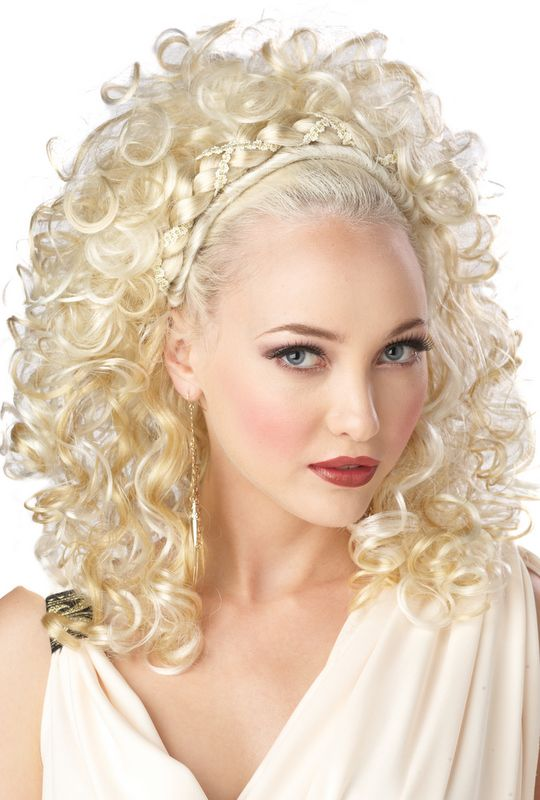 sexy grecian goddess halloween costume wig blonde 70016 - Halloween Costumes With Blonde Wig