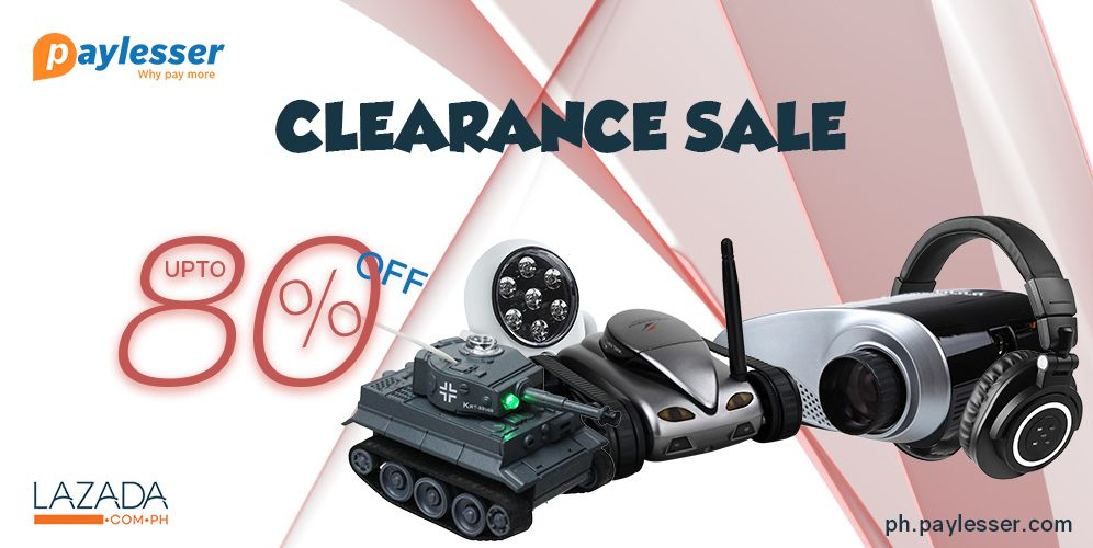 Heres the clearance sale-UPTO 80% OFF on all electronics, home appliances etc at #LAZADA. Click here..>http://goo.gl/nSR9XZ