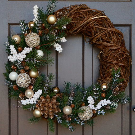 40++ Floral christmas wreath ideas in 2021