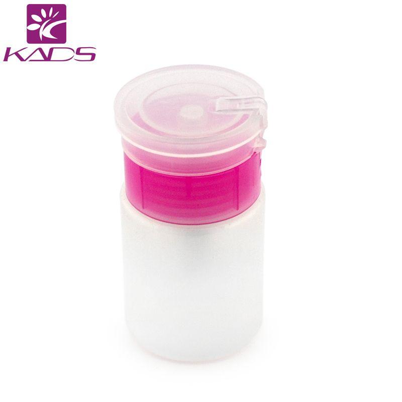 1pc 50ml Pink Empty Dispenser Pump Nail Art Polish Liquid Alcohol ...