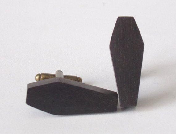 Coffin Cufflinks