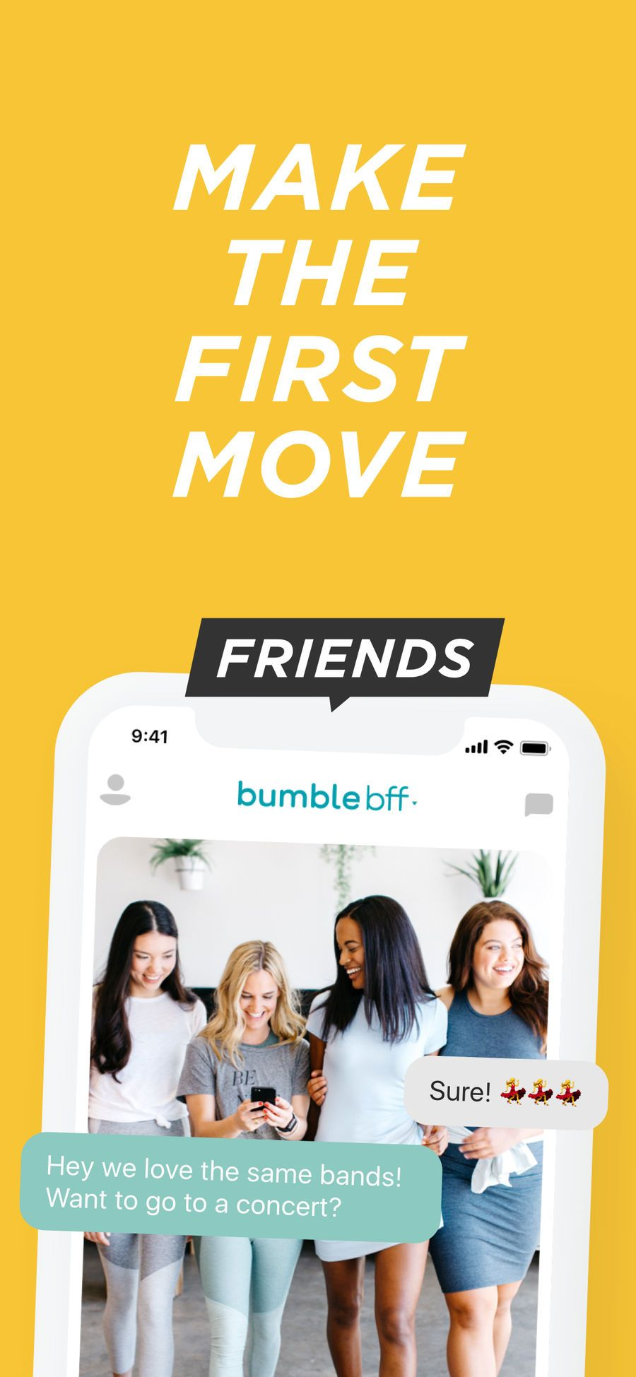 Bumble Meet New People Social Lifestyle Ios Networking