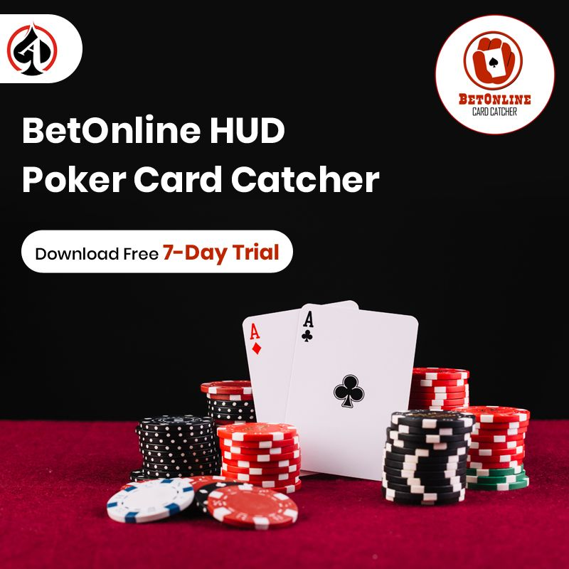 Betonline Card Catcher Allows You To Run A Customizable Hud With Your Holdem Manager Online Poker Poker Cards Poker