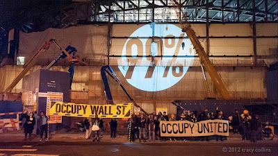 Atlantic Yards Report: The Occupy Movement Comes to the Barclays Center Arena in Brooklyn.