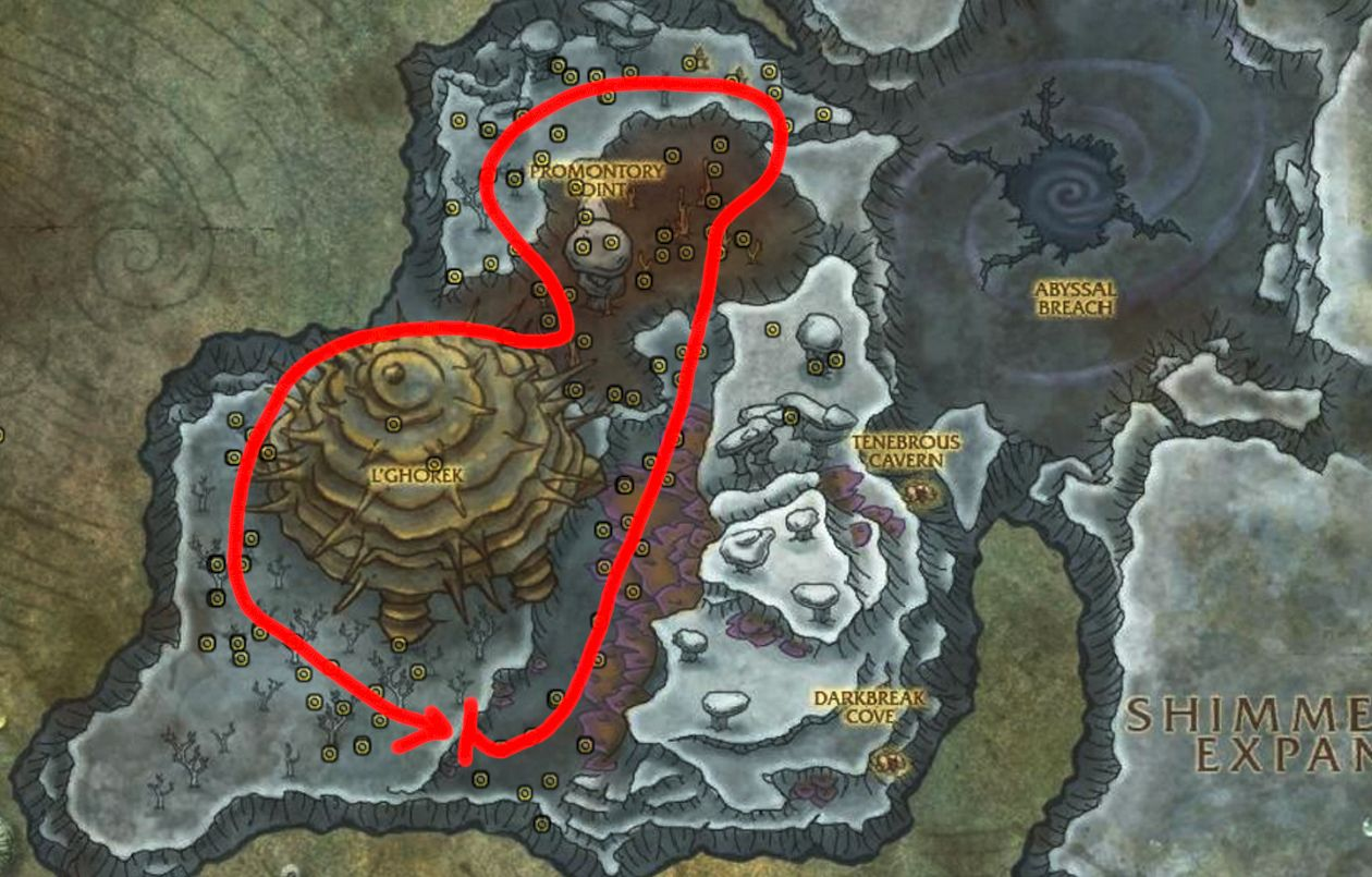 Stormvine Farming Route Abyssal Depths Full Wow Guide Https Youtu Be 4v68s9rtane Farming Guide Route Farm