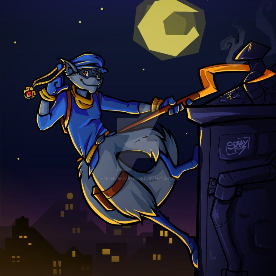 Another Sly Cooper By Arkysparkyartworks On Deviantart Sly Cooper Fanart Sly Sly Cooper Wallpaper