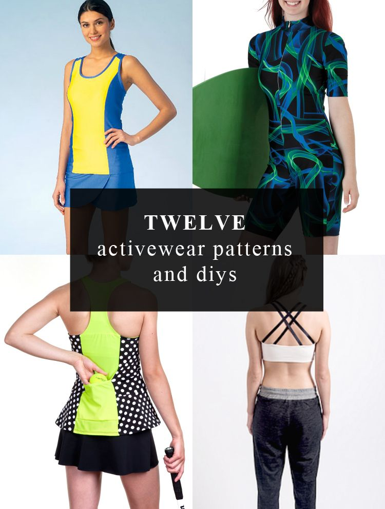 activewear patterns to sew