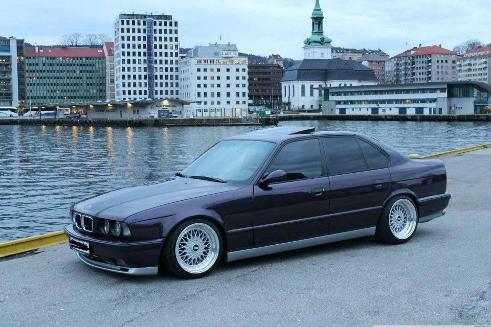 BMW E34 M5  The Ultimate Driving Machine  Pinterest  BMW Cars