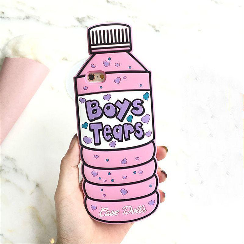 Boys Tears Bottle Phone Case Chehly Dlya Telefona Chehly Dlya