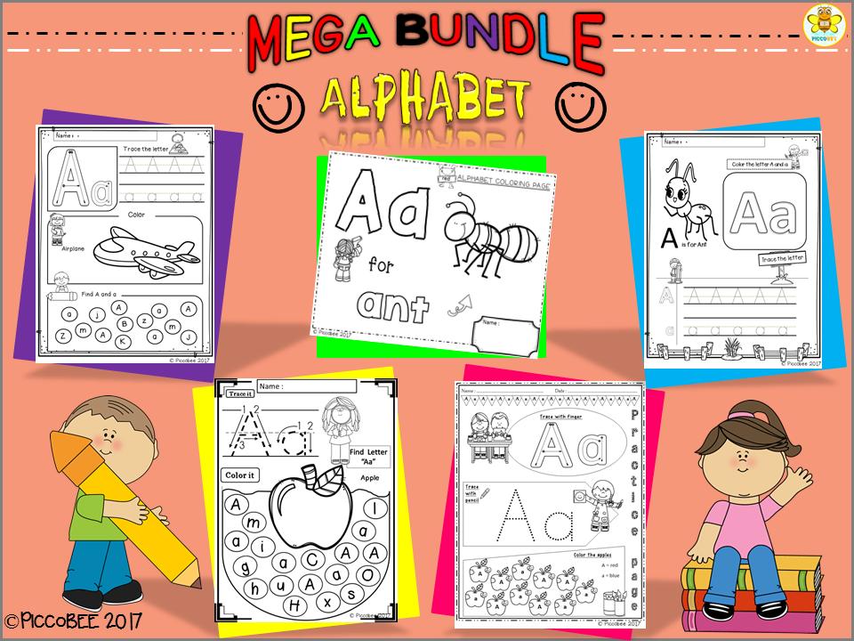 Mega Bundle - Alphabet