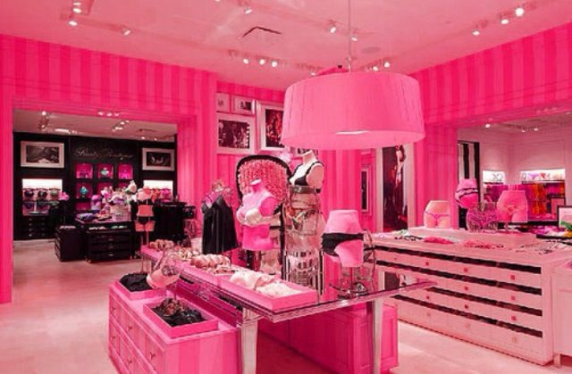 Victoria's Secret closet why not there can never be too