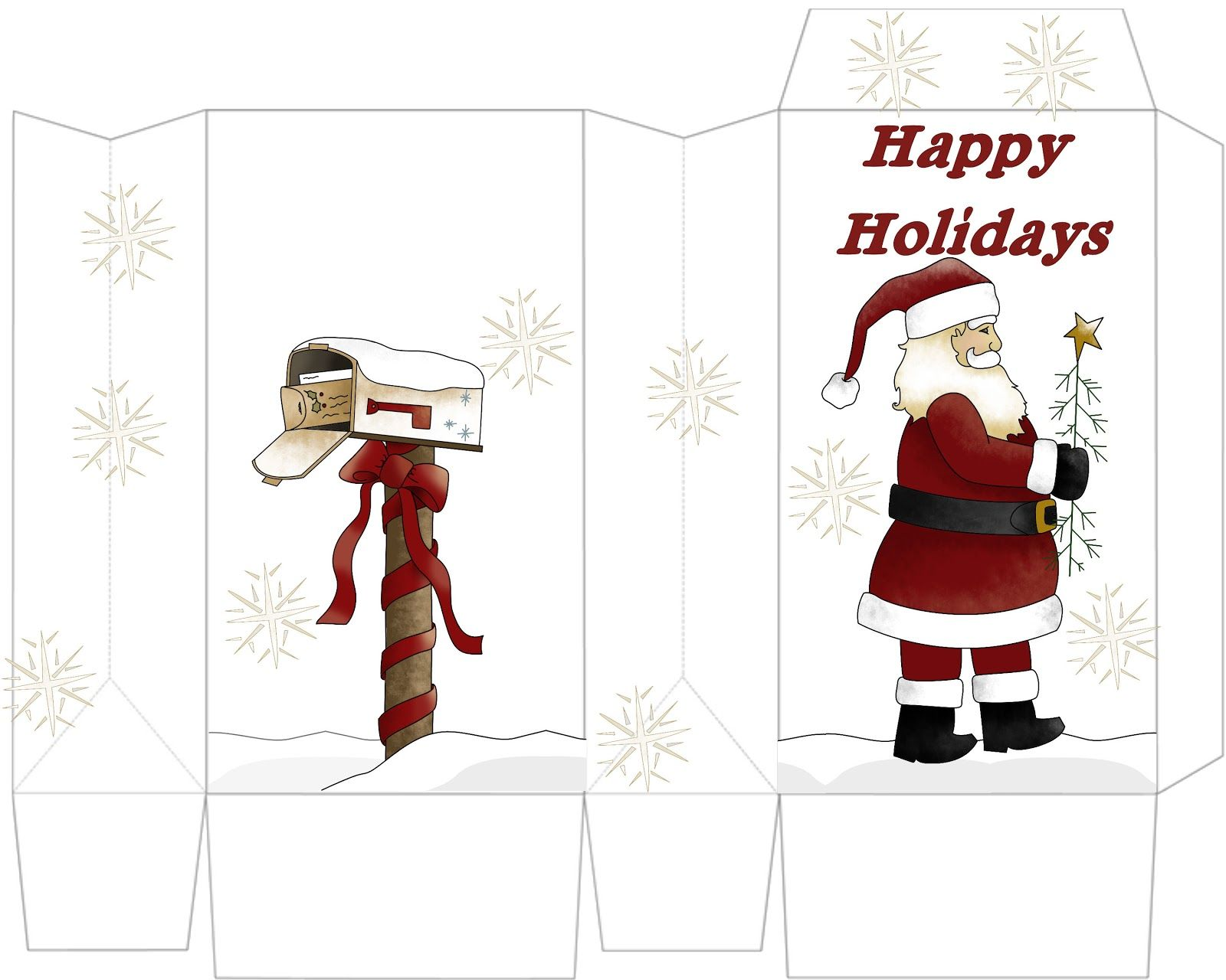 Patty wraps santa treat bag free christmas printables christmas paper jeuxipadfo Images