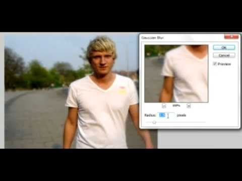 This tutorial explains how to blur the background on a ...