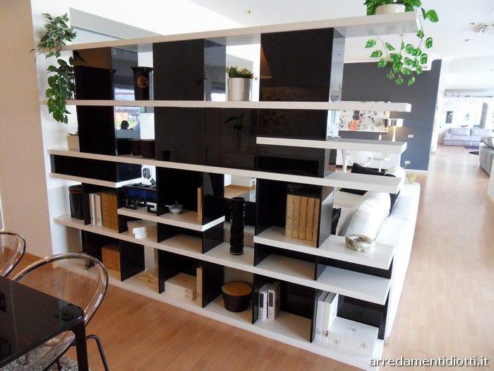 Mobili Diotti ~ Libreria componibile charlotte diotti a f arredamenti new home