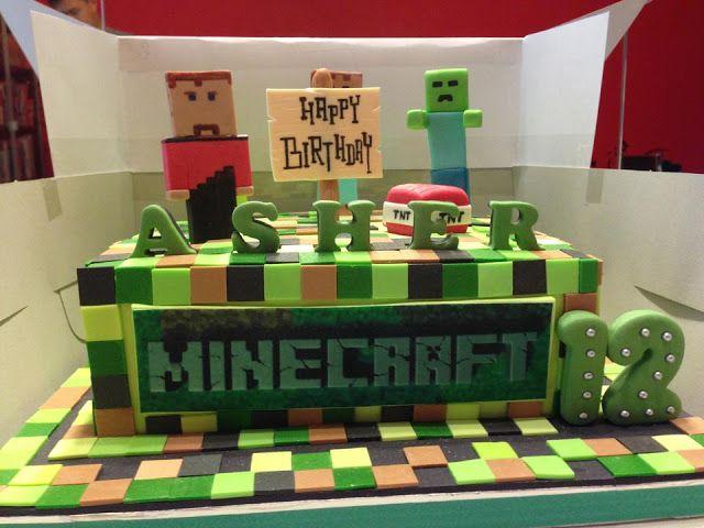 Minecraft Cake Cakepins