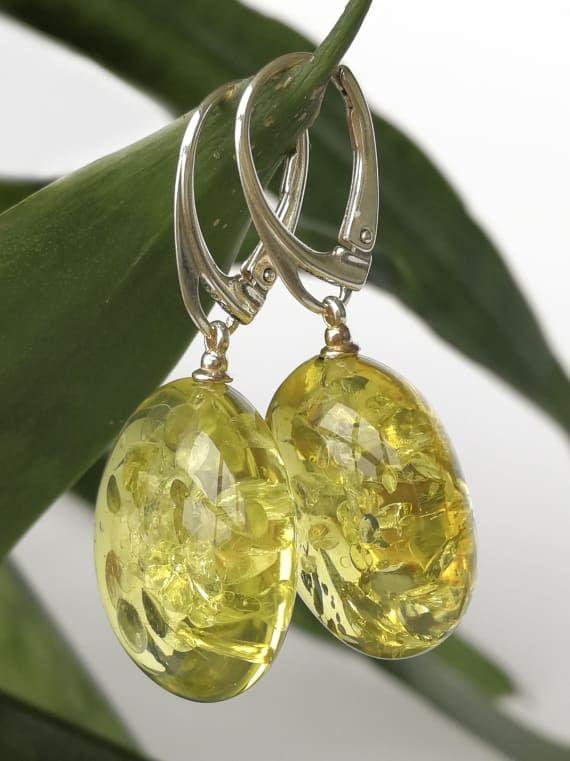 Yellow blue green gemstone earrings with fire agate, light ... |Light Yellow Gemstone Earrings