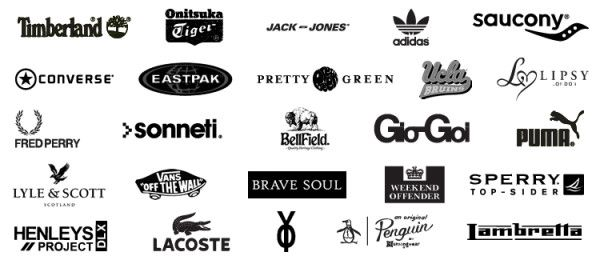 Famous Clothing Brand Names