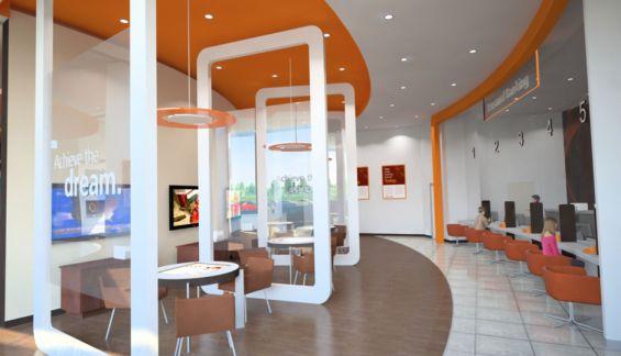 14 Branch Of The Future Designs Bank Interior Design