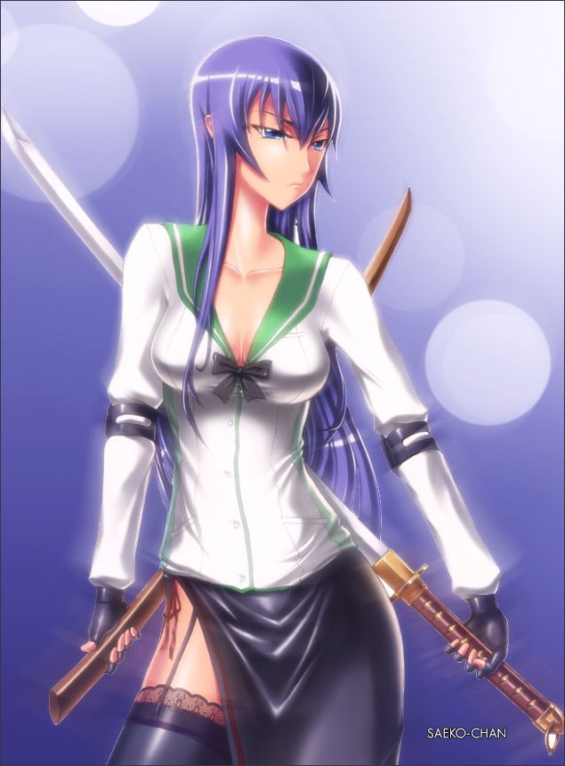 Saeko Busujima By Kwbmm On DeviantART