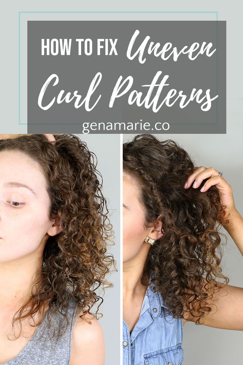 How to Fix Uneven Curl Patterns & Common Causes